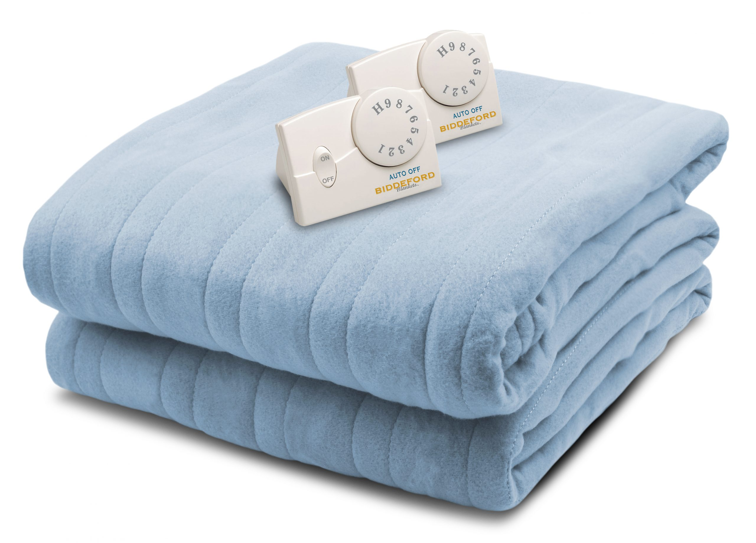 Biddeford Heated Comfort Knit Blanket