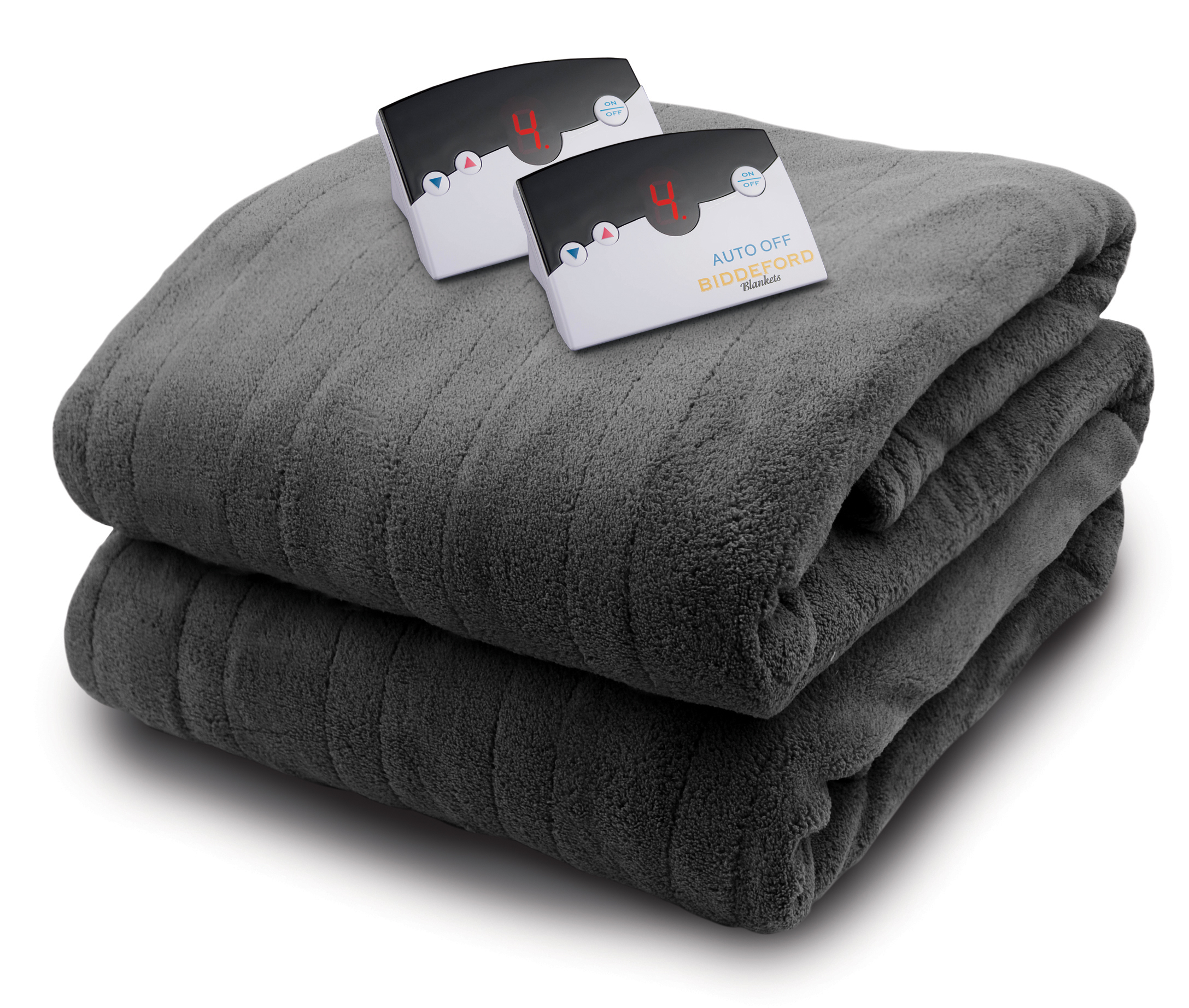 Biddeford Heated Micro Plush Blanket